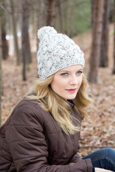 Loops & Threads  Charisma  Basic Beanie Hat (Knit) Knitting patterns an...