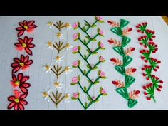 Search Results P Hand Embroidery Projects, Basic Embroidery Stitches, Floral Embroidery Patterns, Border Embroidery, Hand Embroidery Videos, Hand Embroidery Designs, Ribbon Embroidery, Cross Stitch Embroidery, Free Hand Designs