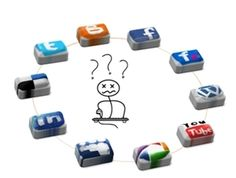 We are here to help you we social media