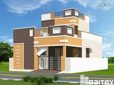 Hidden benefits of a duplex house in Makkah that no one will tell you Single Floor House Design, Duplex House Plans, Bungalow House Design, House Front Design, Small House Design, Modern House Design, Modern Exterior House Designs, Floor Design, Exterior Paint Colors For House