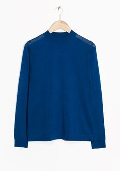 & Other Stories | Wool Mock Neck Sweater