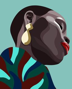 super ideas for pop art woman illustration Arte Pop, Grafik Design, African Art, Love Art, Female Art, Art Inspo, Vector Art, Graphic Art, Art Projects