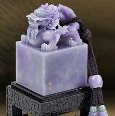 Jadeite lavender jade ... unusual and magnificent colour ...