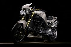 Bike triumph triple speed
