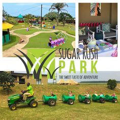 Sugar Rush based in Ballito boasts a playground big enough for all ages with loads of exciting activities like bike tracks, jungle gyms, laser tag and more. Kids Party Venues, Fun Adventure, Jungle Gym, Sugar Rush, Zulu, Stress Free, Playground, Have Fun, Parties