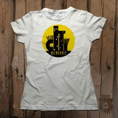 """Brew City Milwaukee"" Women's  Graphic Tee from Grizzly Where"