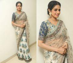 Sridevi Sabyasachi Saree for Mom Promotions
