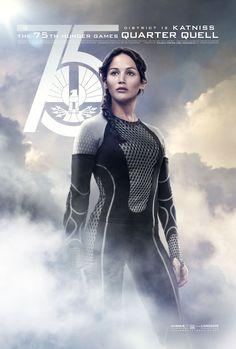 Radiant as fire itself. District 12's victor – Katniss Everdeen. #CelebrateYourVictors
