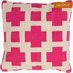 Home Design and Decor - Community - Google+#Corsica is flatweave dhurri styled pillows in pastels and bright colors to liven any decor.  For more details/colors, visit our website : www.jaipurrugsco.com