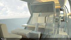 Trains, Future Transport, Modular Trains, Diveri, Futuristic Design, Futurism, Future Vehicle