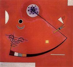Taut at an Angle, author: Wassily Kandinsky, 1930. Kunstmuseum Bern, Stiftung Othmar Huber / © VG Bild-Kunst, Bonn 2016.