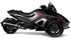3 Wheel Motorcycle Spyder | 2011 Can-Am Spyder RS-S Pure Magnesium Metallic /Steel Black Metallic ...