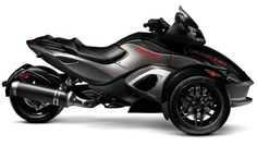 3 Wheel Motorcycle Spyder   2011 Can-Am Spyder RS-S Pure Magnesium Metallic /Steel Black Metallic ...