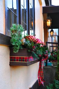Great website for examples of window boxes by season!  Showcase of Seasonal Windowboxes | Wow Windowboxes
