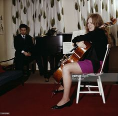 British cellist Jacq