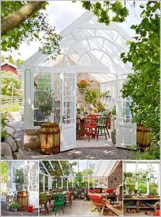 garden shed greenhouse   Transform Your Garden Shed or Greenhouse into a Relaxing Retreat