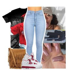 """North side coolin shawty yep that's where I stay."" by naebreezy ❤ liked on Polyvore featuring Polo Ralph Lauren"