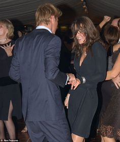 Kate and William dancing years ago.