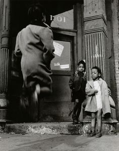 Photo by Wayne F. Miller - Child Jumping (1946-1949).