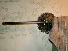 Arteriors Brass Hand Towel BarHolder by dagutzyone on Etsy