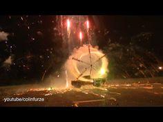 Rocket Powered Firework Wheel