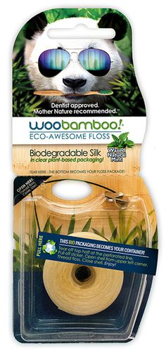 Find the right biodegradable natural dental floss for you and learn proper flossing techniques. woobamboo dental floss removes plaque in all the places your toothbrush can't reach.