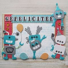 Collectable - Robot - A fantastic collection of Collectable Robot from The Art of Craft in our papercraft, knitting and craft store. Foam Crafts, Paper Crafts, Craft Foam, Marianne Design Cards, Robot Illustration, Craft Supplies Online, Scrapbook Cards, Scrapbooking, Kids Cards