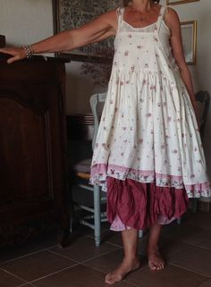 Rose bloomers ruffle accent pick up the dress trim Boho Outfits, Pretty Outfits, Beautiful Outfits, Fashion Outfits, Mori Girl Fashion, Boho Fashion, Vintage Fashion, Boho Chic, Look Boho