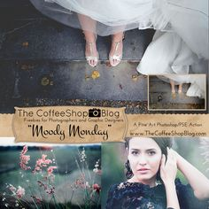 """Today I have a brand new beautiful fine art action called """"Moody Monday"""". This fully-adjustable action has an optional Matte-Effect layer..."""