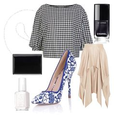 Untitled #14 by anu-lehtonen on Polyvore featuring polyvore, fashion, style, Sonia Rykiel, Barbara Casasola, Paper Dolls, Nine West, Essie and clothing