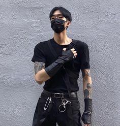 news Korean Fashion News Edgy Outfits, Grunge Outfits, Grunge Fashion, Cool Outfits, Fashion Outfits, Hipster Outfits, Fashion Hacks, Urban Outfits, Korean Street Fashion