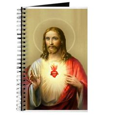 """Here is a sample of a product from the """"Jesus Christ 2"""" ( Any Christian Occasion ) collection. Check out this design in our Cafepress Store! (Jesus Christ 2 Journal) http://www.cafepress.com/lacetonlimited/12542559"""