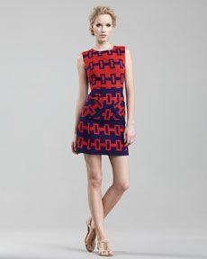 Milly Darcie Colorblock Dress