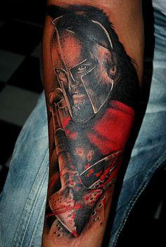 Spartan Tattoos Spartan by alexrodolfo