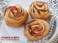 Rose Apple Pie Bites