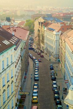 Prague streets. Photo by me.