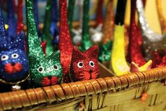 Cute cat ornaments! GIFT SHOP Magazine