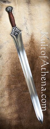 Albion Conan the Barbarian Anniversary - The Mother Fantasy Sword, Fantasy Weapons, Fantasy Rpg, Medieval Fantasy, Katana, Ninja Weapons, Conan The Barbarian, Knives And Swords, Blacksmithing