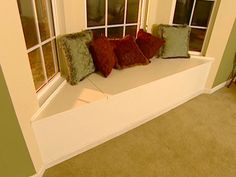 How To Build And Install A Window Seat
