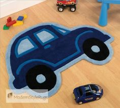 Children's Rug in shaped car design.Fast Free Delivery to Mainland UK Largest selection and lowest price childrens bedroom rugs Childrens Bedroom Accessories, Childrens Rugs, Rug Store, Cute Cars, Cool Rugs, Rugs Online, Modern Rugs, Colorful Rugs, Kids Room