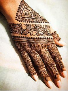 Indian Henna Designs, Latest Bridal Mehndi Designs, Henna Tattoo Designs Simple, Full Hand Mehndi Designs, Henna Art Designs, Mehndi Designs 2018, Mehndi Designs For Girls, Mehndi Designs For Beginners, Modern Mehndi Designs