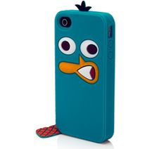 Perry Character Suit Silicone Case for iPhone 4/4S    Mobile  Price: $34.99