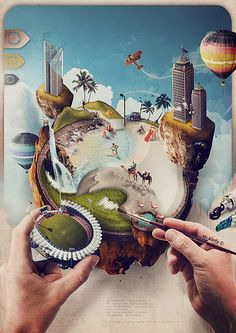 """Modelizm"" (Photo-illustration) by Mr.Xerty © 2014 - www.nomastaprod.com…"