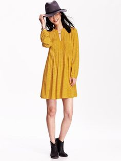 Patterned Swing Dress Product Image