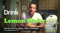 Benefits of Drinking Lemon Water & How To Make Lemon Water