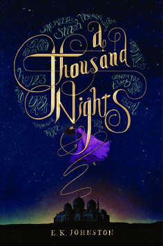 """If you're looking for beautiful writing and a unique story that you can stroll rather than race through, A THOUSAND NIGHTS is worth checking out.""  Alise gave this YA retelling of 1000 Arabian Nights 4 stars."