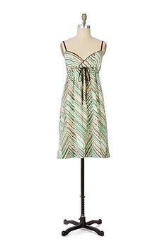 Snow Pea Dress #anthropologie