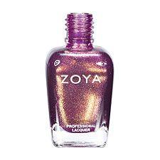 Zoya Nail Polish ZP551  Faye  Mauve Purple Nail Polish Metallic Nail Polish
