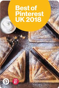 Mince pie toastie recipe by Sainsbury's. Runner Up of 'best twist on tradition' – Pinterest UK Food + Drink Awards.