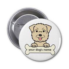 An adorable Glen of Imaal Terrier cartoon!